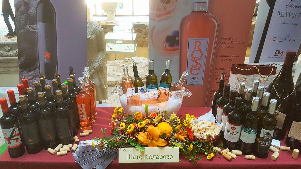 Участие на Шато Коларово на фестивала на виното Августиада - 2017