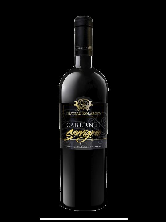 Вино Каберне Совиньон 2011 на винарна Шато Коларово