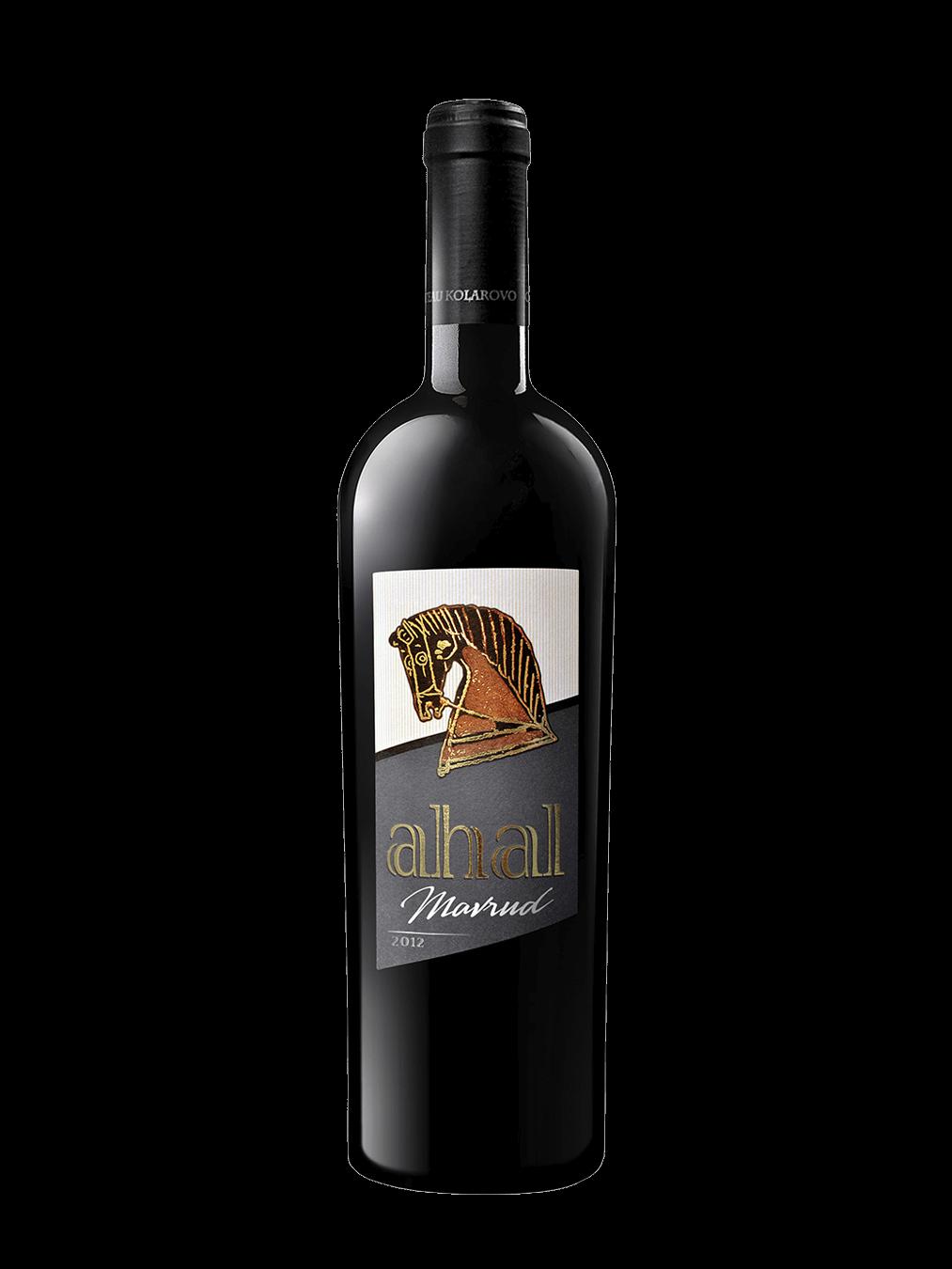 Вино Мавруд 2012 от винена серия Ахал на Шато Коларово