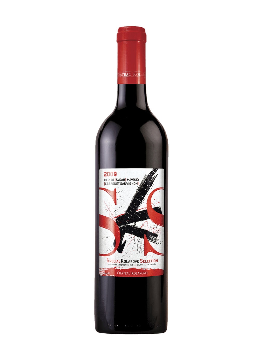 Серия вина SKS 2009 на винарна Шато Коларово